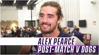 Alex Pearce post-match - Rd 6 v Bulldogs