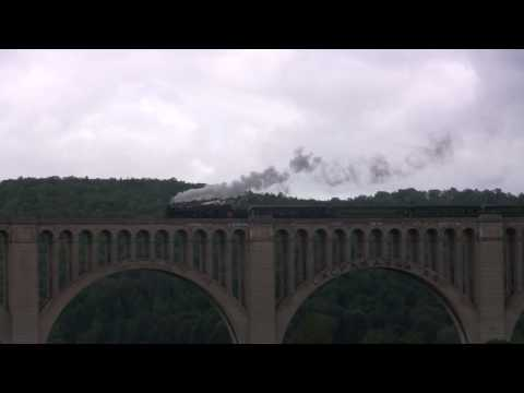 CN #3254- 2009 Excursion To Tunkhannock Viaduct