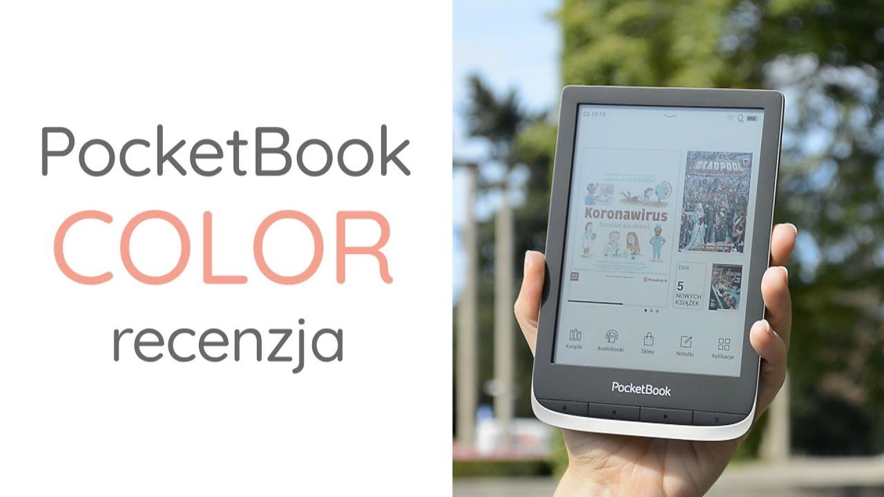 Czy warto kupić czytnik z kolorowym ekranem? Recenzja PocketBook Color