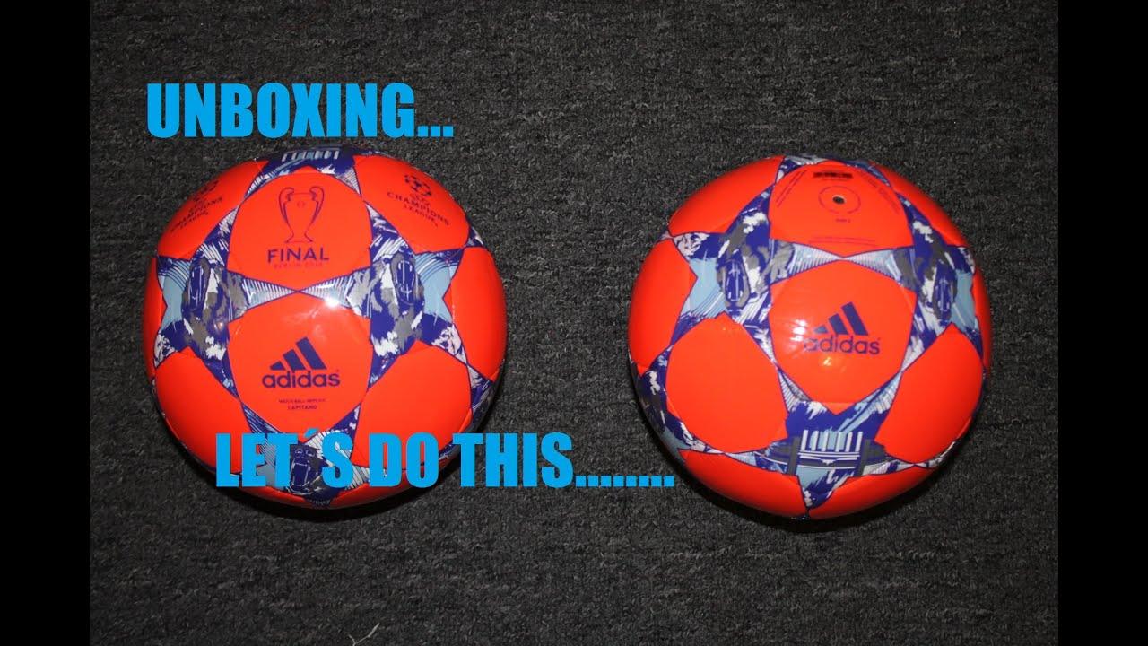 Adidas CL Matchball Replica Capitano Unboxing. - YouTube 325663233da20
