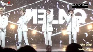 [Vietsub + Kara] MBLAQ - Scribble + It's WAR (120115 Inkigayo HD)