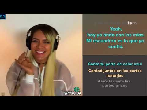 Karol G   Ahora me llama   Sing karaoke