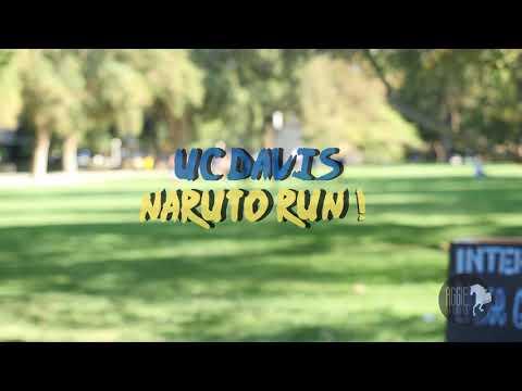 UC Davis Naruto Run