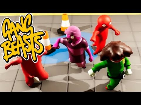 GANG BEASTS ONLINE - We Finally Win!!! [Waves]