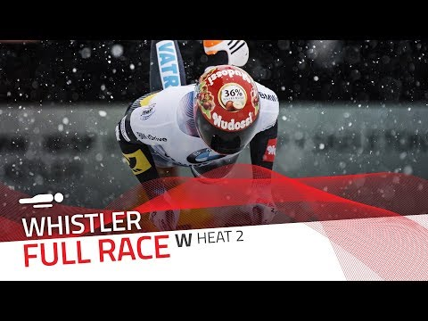 Whistler | BMW IBSF World Cup 2017/2018 - Women's Skeleton Heat 2 | IBSF Official