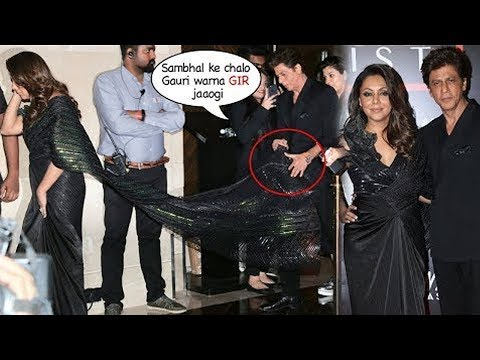 WATCH How Shah Rukh Khan Scouting Wife Gauri Khan | Nykaa Fashion And Vogue India 2019