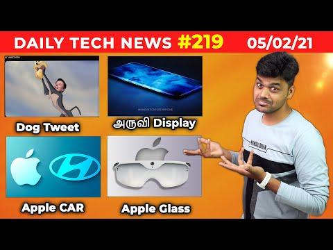 TTP 219: Apple GLASS, Xiaomi Waterfall display, Elon MUSK with DOG Tweet , Apple CAR.