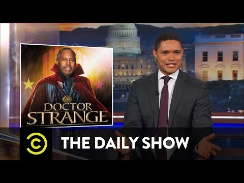 "No, Ben Carson, Slaves Weren't ""Immigrants"": The Daily Show"