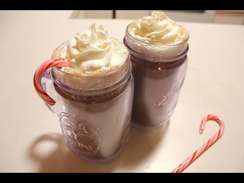 Peppermint Schnapps Spiked Hot Chocolate | Peppermint Schnapps Drinks | Alcoholic Hot Chocolate