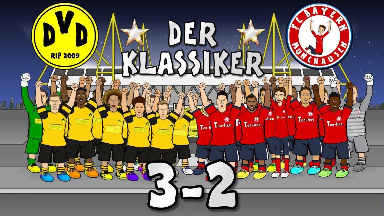 F F C F Borussia Dortmund Vs Bayern Munich Goals Highlights