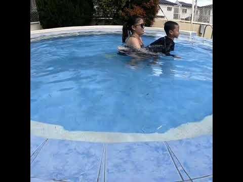 swimming buddy!