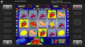 Igrosoft - Fruit Cocktail (Bonus Game)