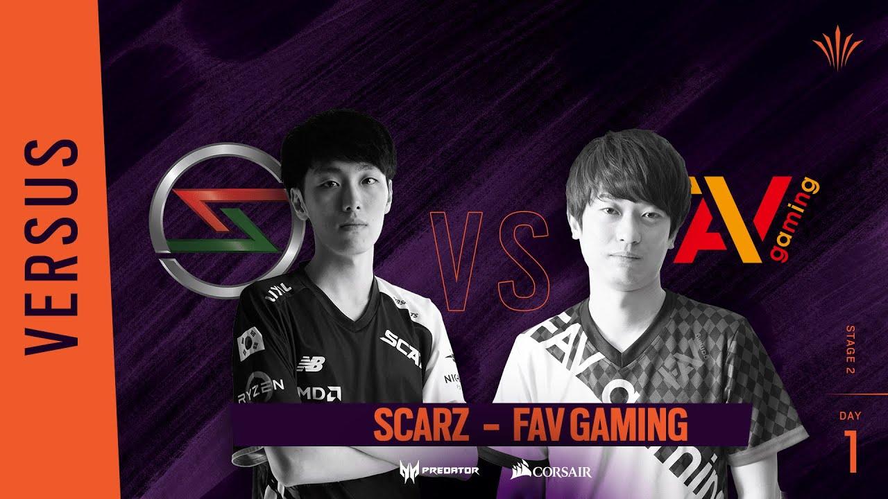 Scarz vs FAV Gaming // Rainbow Six APAC North Division 2020 - Stage 2 - Playday #1