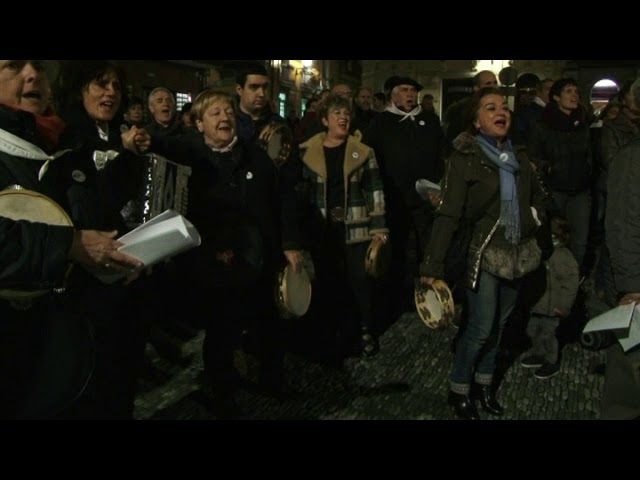 Kantuan eman diote Bermeon hasiera Euskaraldiari