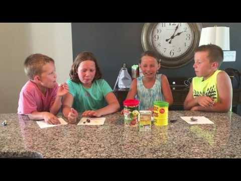 Avery and Teddy Toxic Waste Challenge