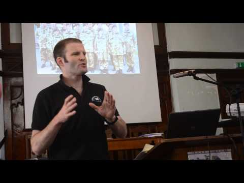 """Ben Griffin of Veterans for Peace Uk at The """"Other"""" Armed Forces Day. Part 1"""