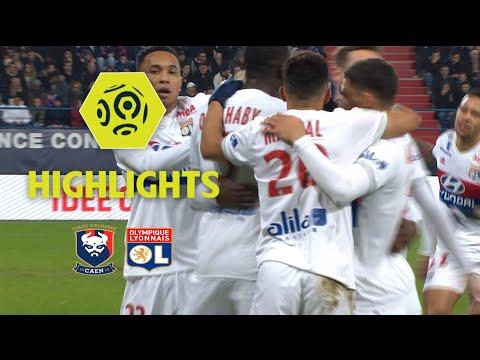 SM Caen - Olympique Lyonnais (1-2) - Highlights - (SMC - OL) / 2017-18
