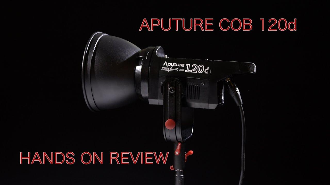 Aputure COB 120d Hands On Review