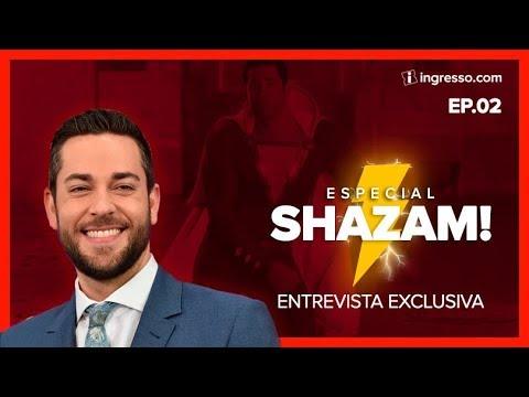 Shazam! | Ep. 2 | Entrevista EXCLUSIVA com Zachary Levi | Série Especial com Renata Boldrini