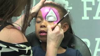 Spidey Girl: Face Painting Tutorial Thumbnail