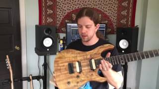 Kiesel Guitars Artist Profile - Brody Uttley of Rivers of Nihil