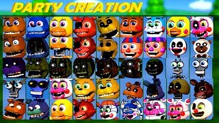 - PLAY AS ANIMATRONICS .. FNAF WORLD The Return to Nightmares