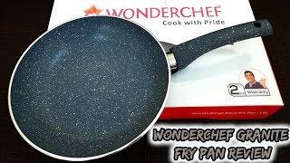 Wonderchef Granite Fry Pan Review