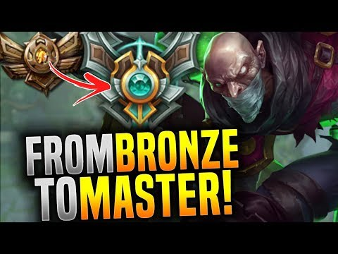 From Bronze To Master With Singed! - Korean Master OTP Singed Main +1Milion Mastery Points!