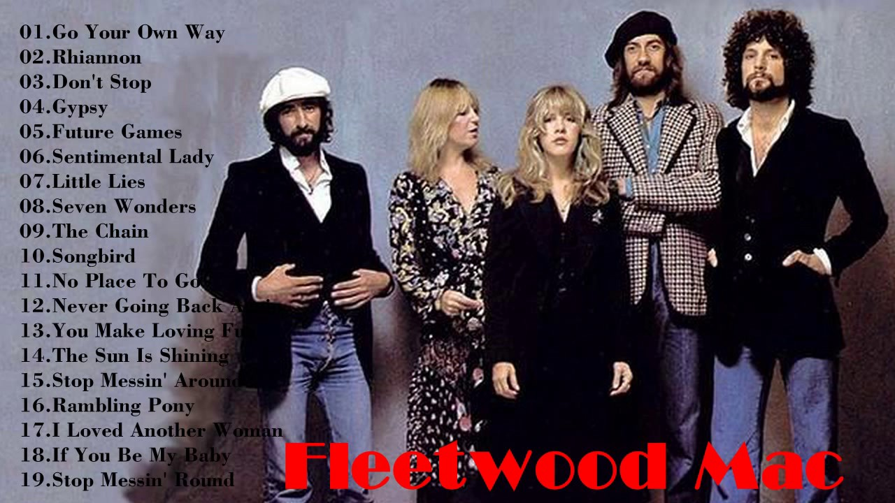 Top 10 Fleetwood Mac Songs - video dailymotion