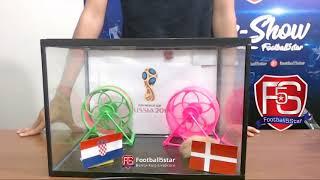 Prediksi Kroasia vs Denmark bersama PO si Hamster