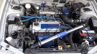1999 Mirage / Lancer supercharged build pt: 1