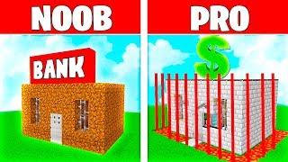 Minecraft NOOB vs PRO: EL BANCO M�S SEGURO DE MINECRAFT! 💰