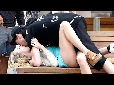 Extreme kiss prank (Gone wild) thumbnail