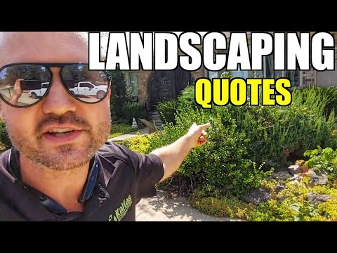 Saturday Landscaping Quotes with Keith Kalfas - $10,000 Landscaping Job