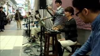 2013.11.09 Live @ Motomachi Shopping Street, Motomachi, Kobe, Hyogo...