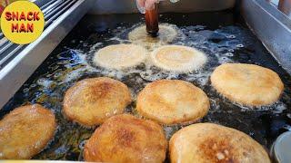 호떡(Sweet pancake)과 핫도그(Hot dog…