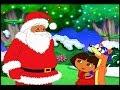 Даша путешественница и Диего мультфильм на русском Все серии-Рождество.Даша Подарок санте.