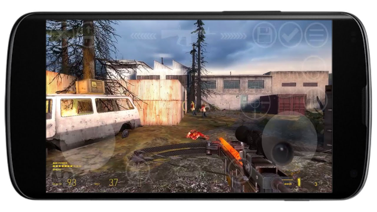 Half-Life 2 Episode Two Android Gameplay
