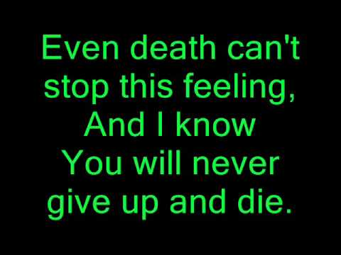 Elena Siegman - Lullaby for a dead man Lyrics