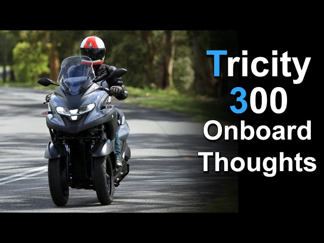 2020 Yamaha Tricity 300 | Onboard & Ride Thoughts