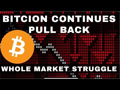 Crypto News | Bitcoin Continues To Pull Back. Whole Market Down. Here's Your Strategy.