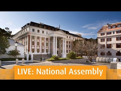 PLENARY: National Assembly, 2pm 17 May 2016