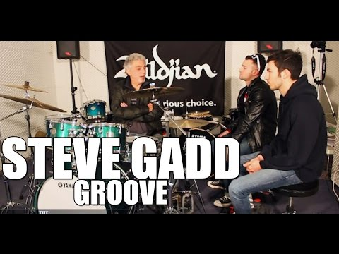 Steve Gadd - 'How to Groove' drum tips
