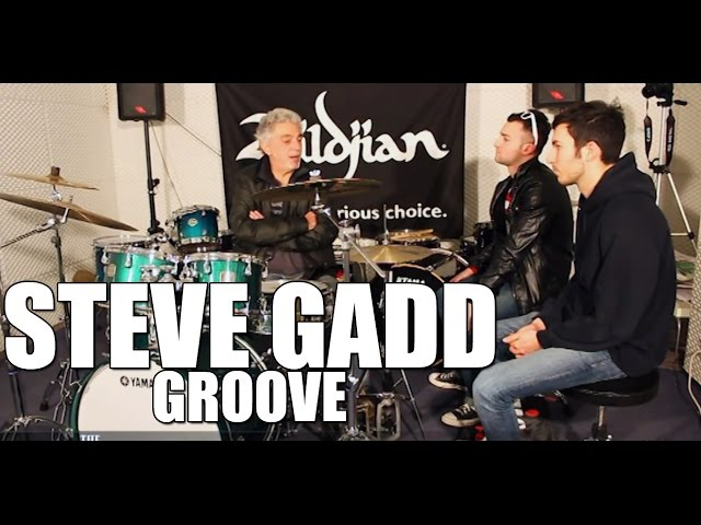 Steve Gadd - How to Groove drum tips