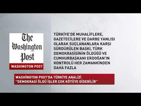 Haber | Washington Post: Türkiye'de demokrasi öldü, işler çok kötüye gidebilir