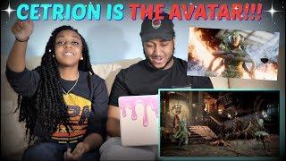 Mortal Kombat 11 Cetrion Reveal Trailer REACTION!!!