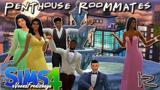 The Sims 4//Penthouse Roommates//The one with the Bachelorette Party!!!