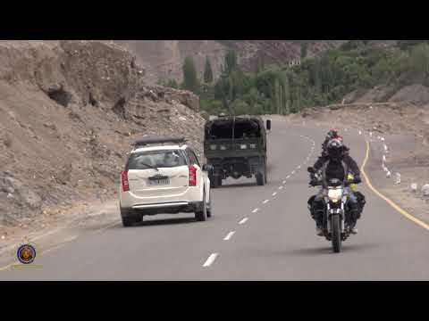 2016 Nrsimha Dasa & Friends Indian Cross Country Motorcycle Trip - Himalayan Mountains -  Pt 7.