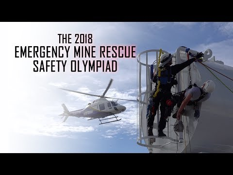 2018 Emergency Mine Rescue Olympiad