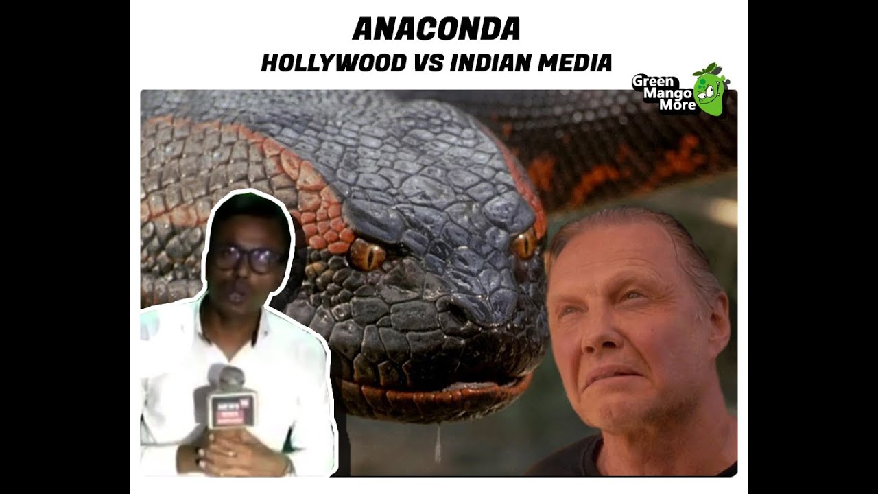 Anaconda Attack: Hollywood Vs. Indian Media